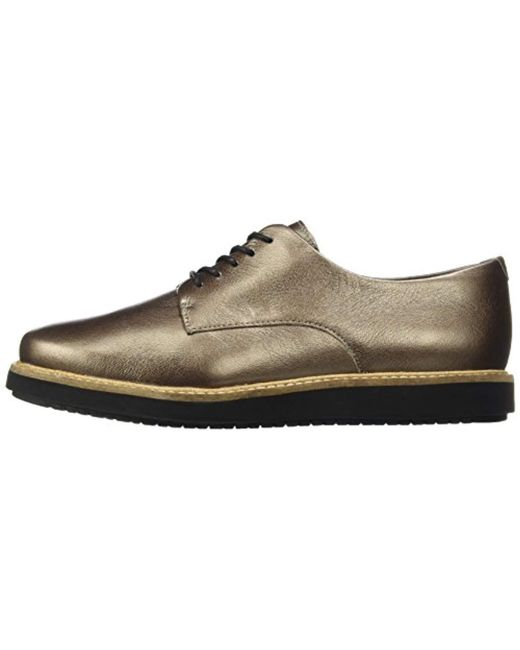 Clarks Glick Darby Women Schuhe pewter leather