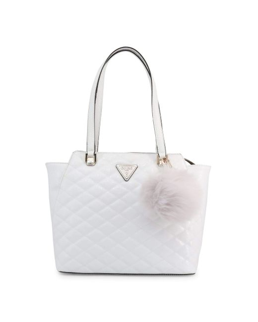 Astrid Tote White Guess