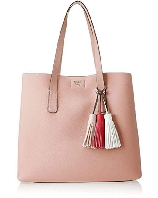 Guess - Pink Hobo Shoulder Bag - Lyst ... eb79a88f977ba