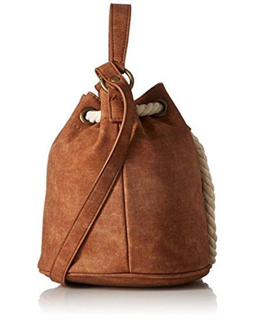 the Only Thing Cross-Body Bag, Brown Roxy