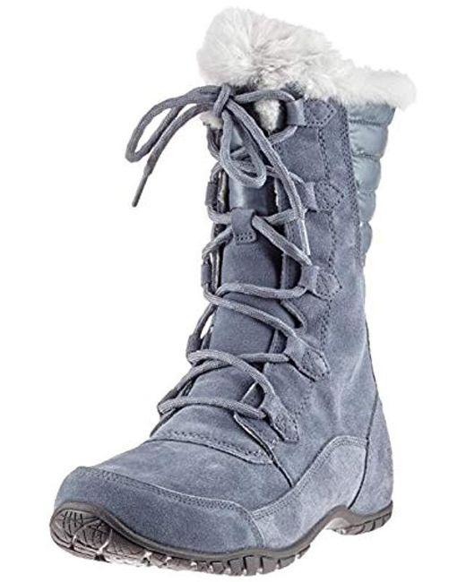 be5f9606e Women's Gray Nuptse Purna Ii Snow Boots
