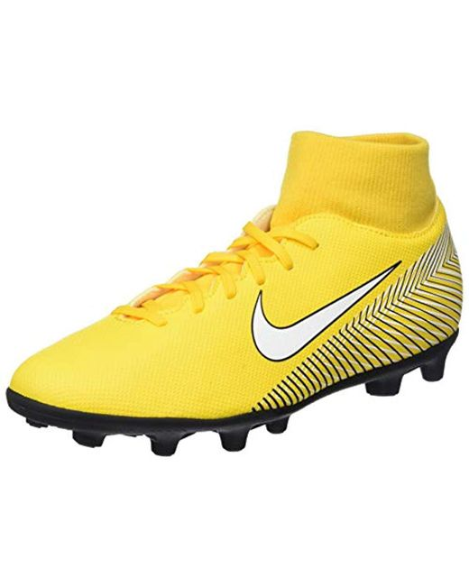 6ccb7d45576c3 Yellow Unisex Adults' Superfly 6 Club Njr Mg Footbal Shoes