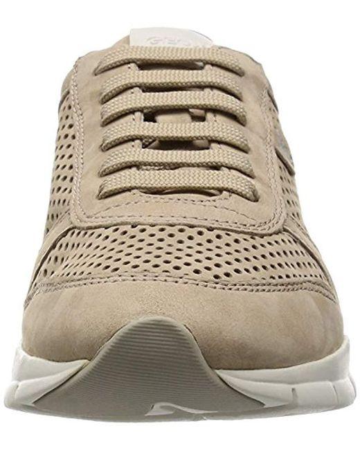 6659de47 Geox D Sukie F Low-top Sneakers in Brown - Save 11% - Lyst