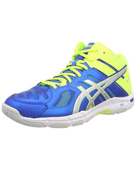 Men's Blue Gel beyond 5 Mt Indoor Court Shoes (b600n)