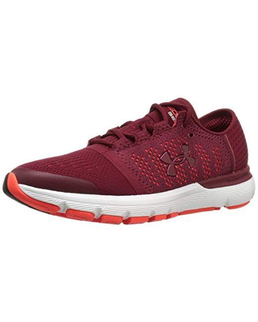 Under Armour Red Ua Speedform Gemini Vent Training Shoes for men