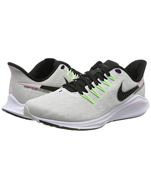 231d040053a9a Women's Gray Wmns Air Zoom Vomero 14 Running Shoes
