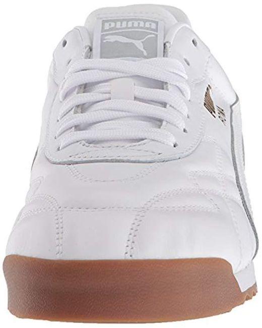 PUMA Roma Anniversario Sneaker in White for Men Save 44