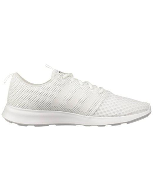 81931619ecbc6 ... Adidas - White Cf Swift Racer Sneaker for Men - Lyst ...
