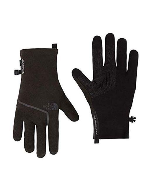 Gants Closefit Polaire Gore-Tex Infinium, Gants The North Face pour homme en coloris Black