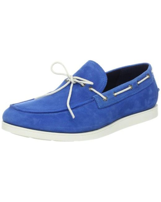 Cole Haan - Blue Air Mason Camp Moccasin for Men - Lyst