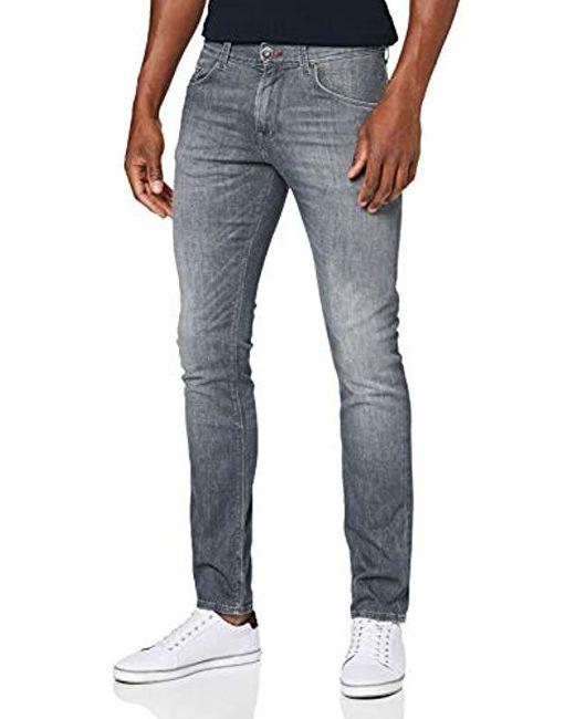 Tommy Hilfiger Gray Bleecker-str Rexburg Grey Slim Jeans for men