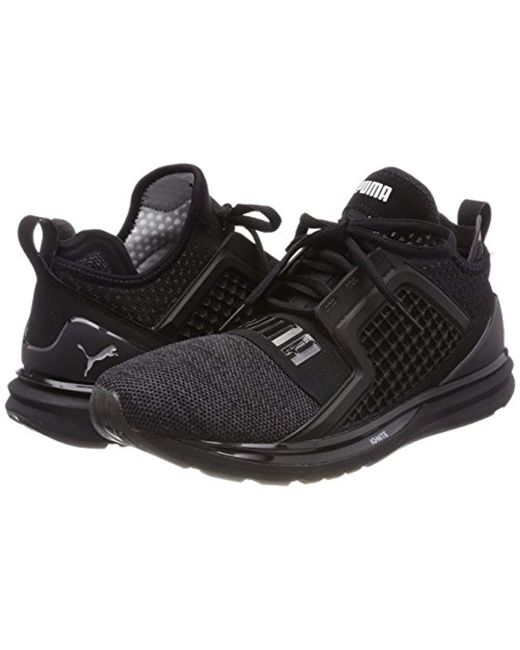 67516c068f4 Puma  s Ignite Limitless Knit Cross Trainers in Black for Men - Lyst