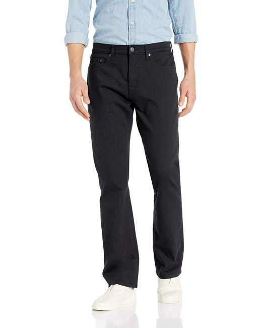 Slim-Fit Stretch Bootcut Jean Jeans Amazon Essentials de hombre de color Black