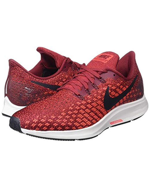1f60cab9 Men's Red Laufschuh Air Zoom Pegasus 35 Competition Running Shoes