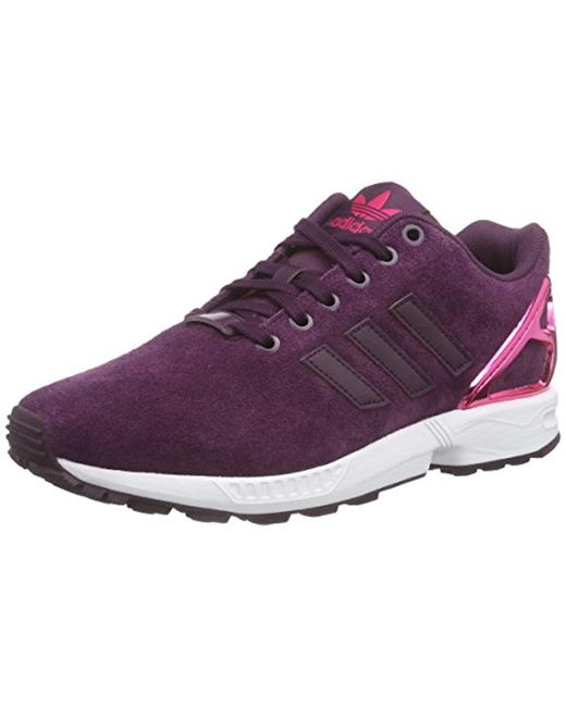 premium selection 2c1f9 3a73d Women's Purple Zx Flux Trainers