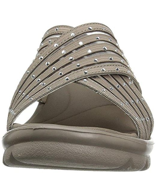 d3d1d5a737fb ... Skechers - Multicolor Cali Promenade Easy Go Wedge Sandal - Lyst ...