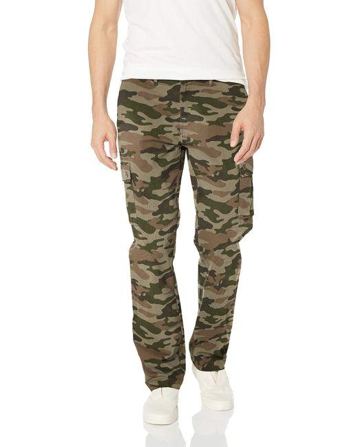 Pantaloni cargo elasticizzati da uomo di Amazon Essentials in Green da Uomo