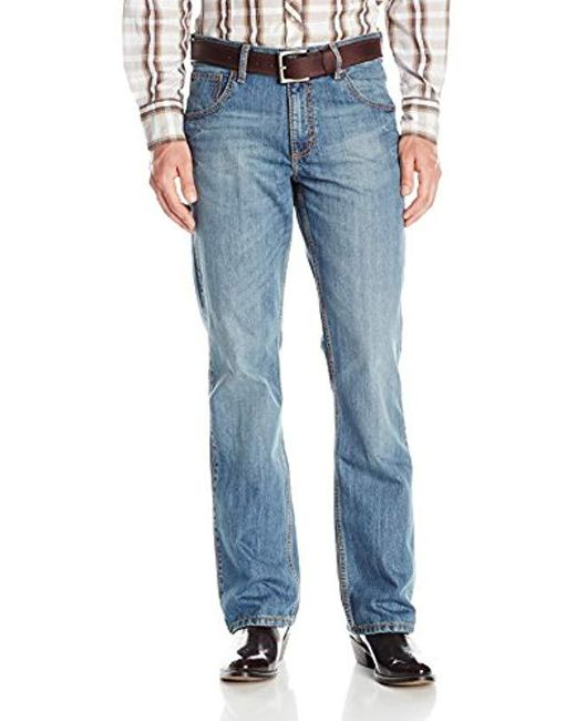 Wrangler - Blue 's Retro Relaxed Fit Boot Cut Jean for Men - Lyst
