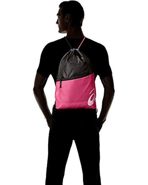 ASICS TM Cinch II Bag Black Orange Unisex