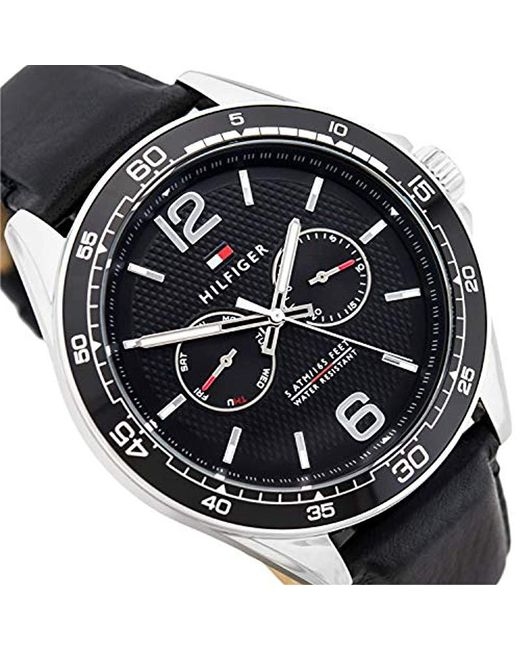 2556b3601115 Reloj Multiesfera para Hombre de Cuarzo con Correa en Cuero 1791369
