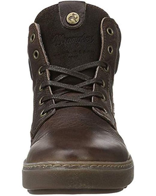 2f3eefbd252 Wrangler Historic Ankle Boots in Brown for Men - Lyst