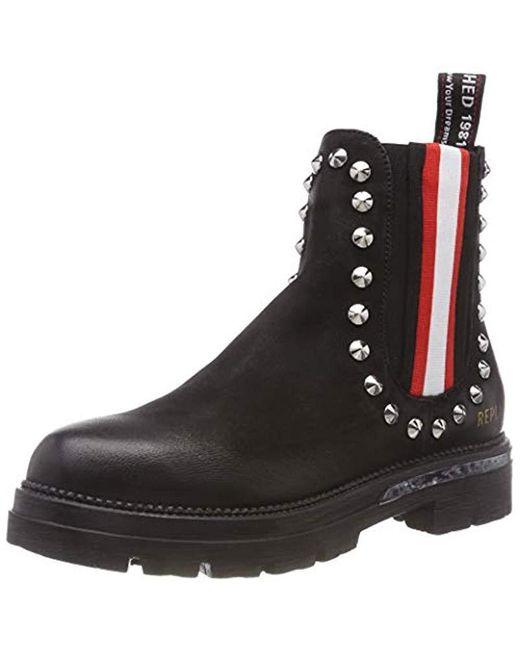 promo code 9b794 c5e21 Damen Rhodan Chelsea Boots in schwarz