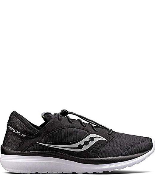 Saucony Black Kineta Relay Sneaker for men