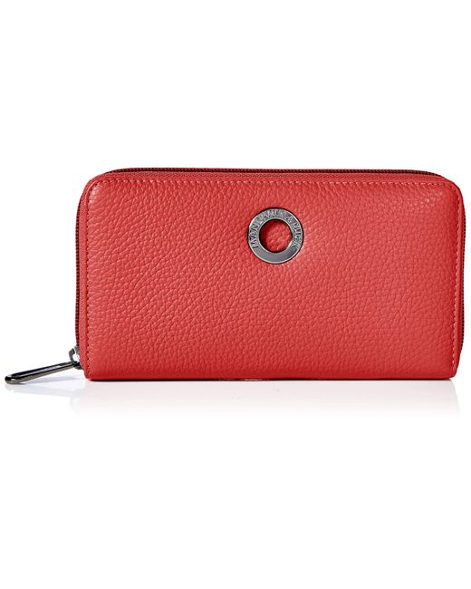 Mellow Leather Portafoglio di Mandarina Duck in Red