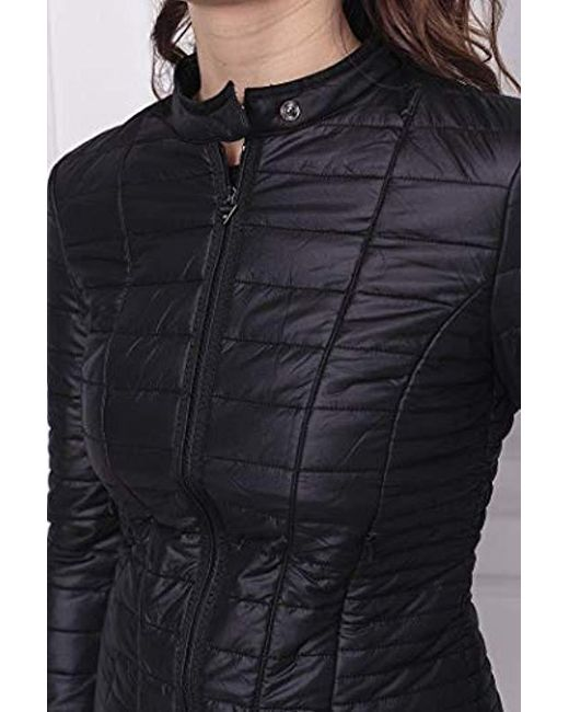 best loved 42b10 a55a4 Guess Vona Bomber Jacket in Nero (Black) - Save 8% - Lyst