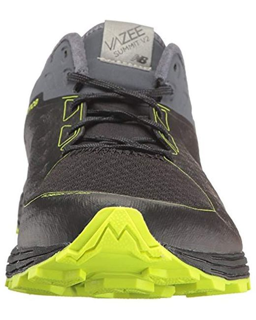 Men's Black Vazee Summit V2 Trail Running Shoes