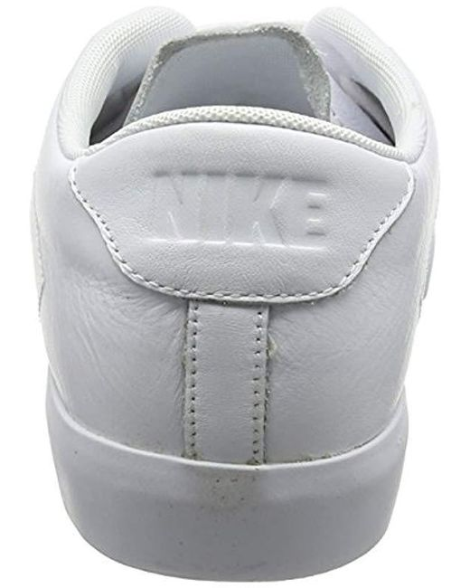 Nike All All Court 2 Low Leather Trainers in White (White