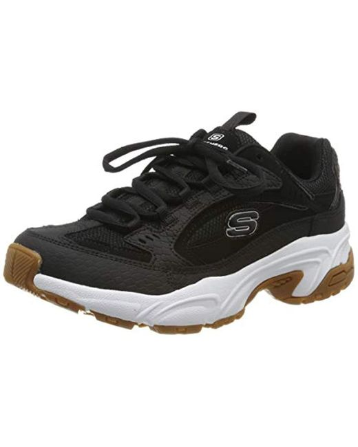Women's Black Stamina classy Trail Trainers