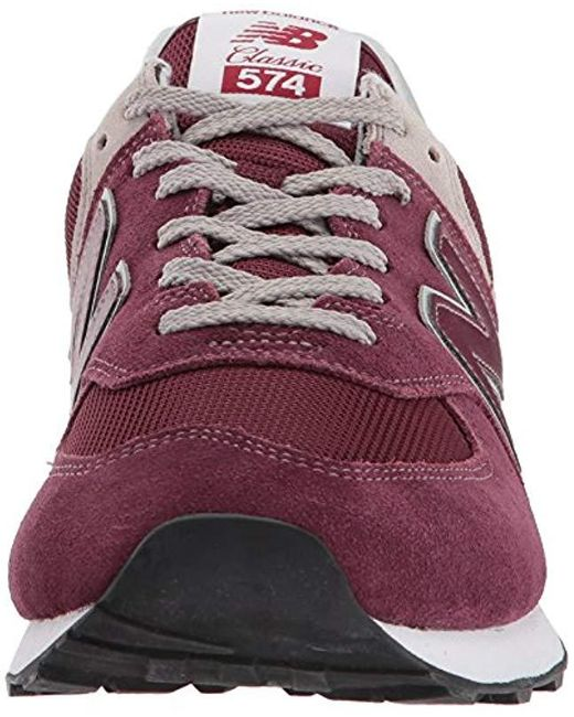 new style ac013 3ebaa New Balance Synthetic 574v2-core' Trainers in Red (Burgundy ...