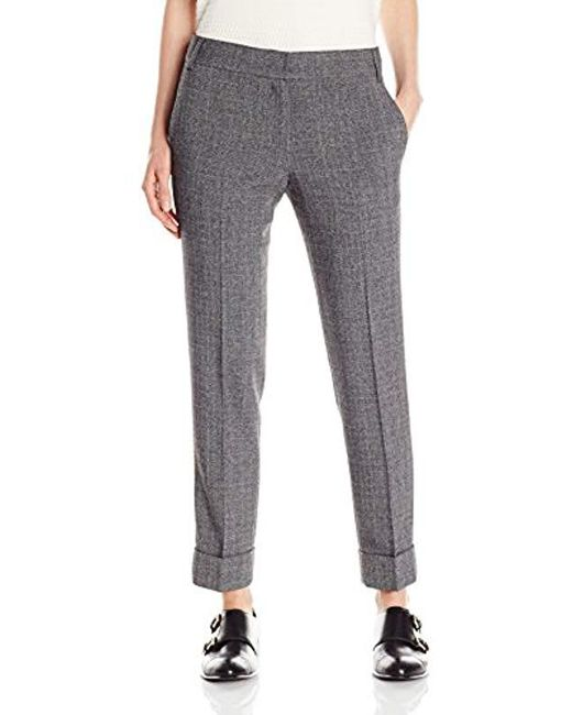 James Jeans - Gray Cuffed Trouser - Lyst
