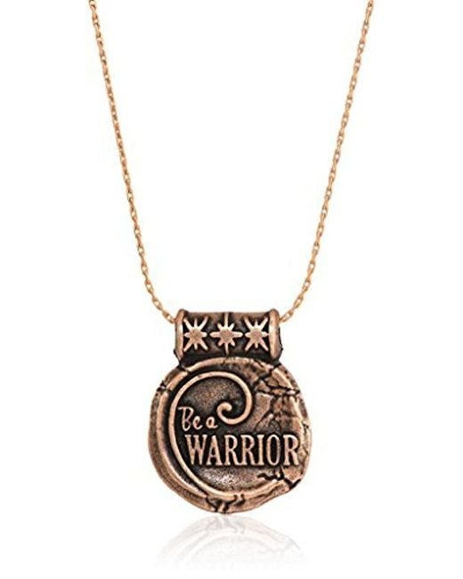ALEX AND ANI - Metallic S Wrinkle In Time - Be A Warrior Expandable Necklace - Lyst