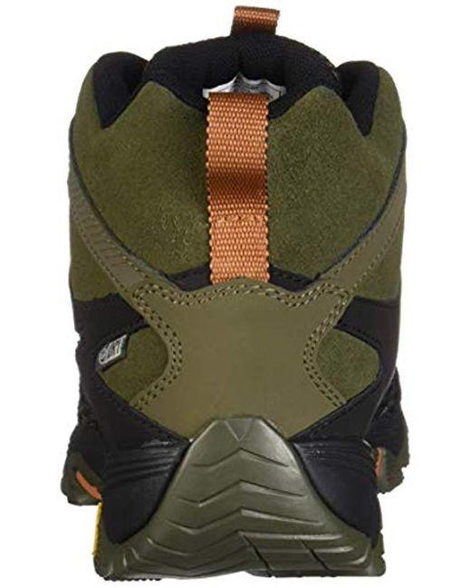 6b420c94317 Men's Green Moab Fst 2 Mid Waterproof Hiking Shoe, Olive/adobe, 08.0 M Us