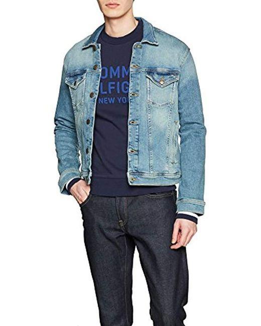 Tommy Hilfiger Blue Classic Trucker Denim Jacket for men