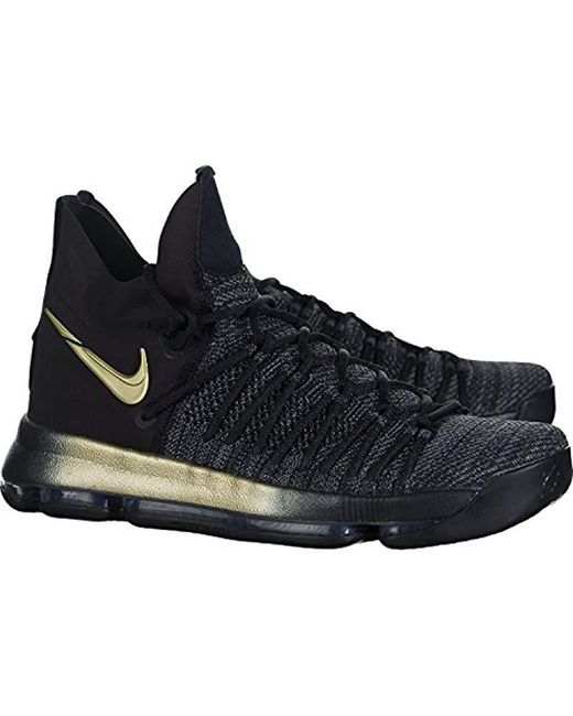 the latest 4a2f6 2affe Men's Black Zoom Kd 9 Basketball Shoe