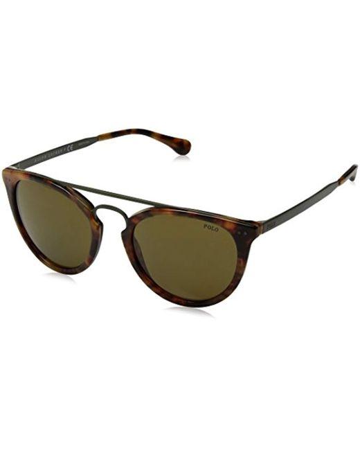 Polo Ralph Lauren Green Polo Ph4121 Sunglasses for men