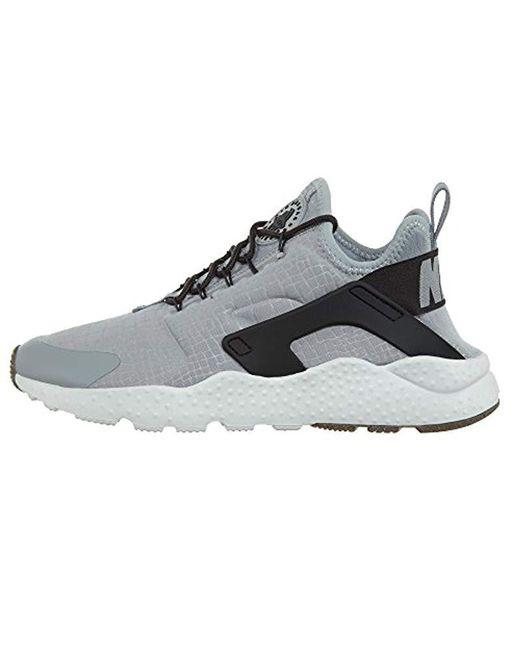 72e05f64e2ae Nike Wmns Air Huarache Run Ultra Gymnastics Shoes in Gray - Save 34 ...