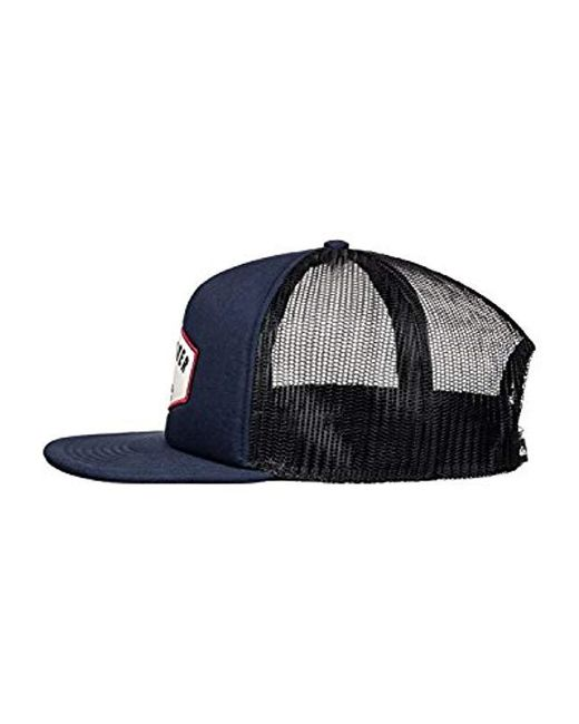 4621d438b42d8 Lyst - Quiksilver Jetty Grind Hat in Blue for Men - Save 39%