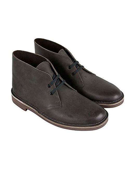 Clarks Gray Bushacre 2 Chukka Boot for men