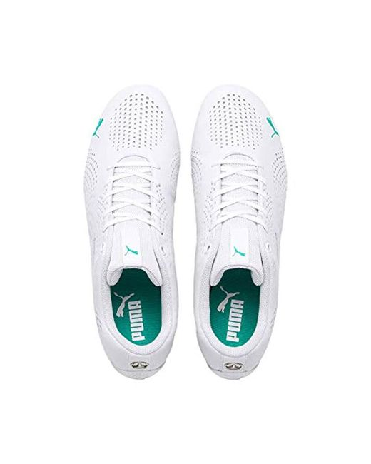 470d25ec07 Women's White Mercedes Amg Petronas Drift Cat 5 Ultra Ii Trainers
