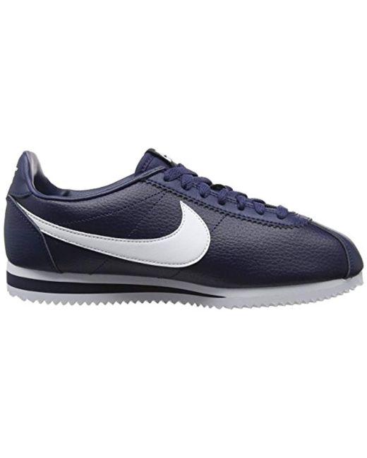sports shoes 80c94 71fb5 Men's Blue Classic Cortez Running Shoes