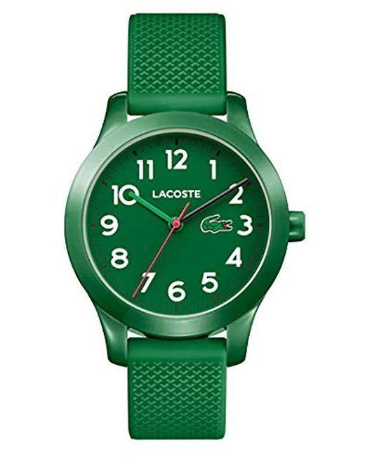 4b956c73e219 Lacoste - Green Reloj Análogo clásico para Niños de Cuarzo con Correa en  Silicona 2030001 for ...