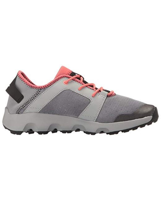 san francisco 83bfa 0f989 Women's Gray Outdoor Terrex Climacool Voyager Sleek Water Shoe,  Grey/black/tactile Pink, 7 M Us