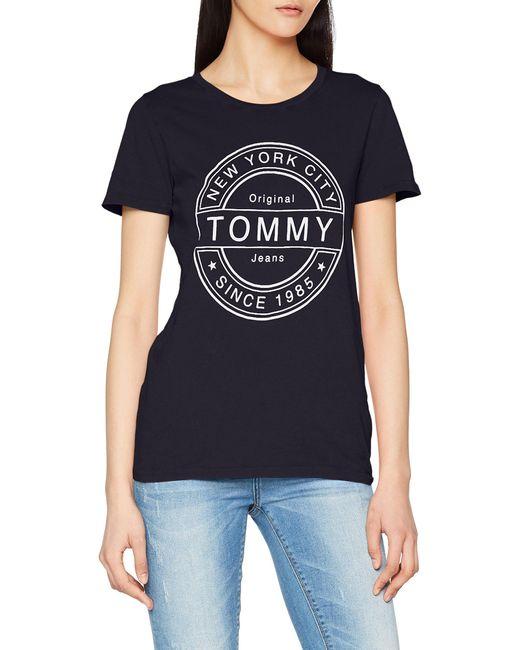 Tommy Hilfiger Blue Stamp Logo T-shirt