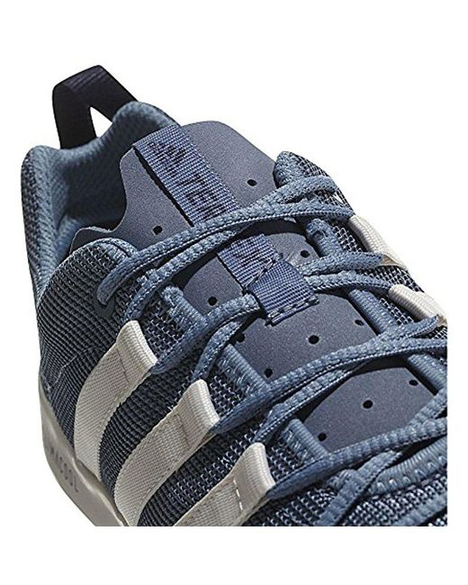 lyst adidas originali terrex cc barca a scarpa in blu per gli uomini.