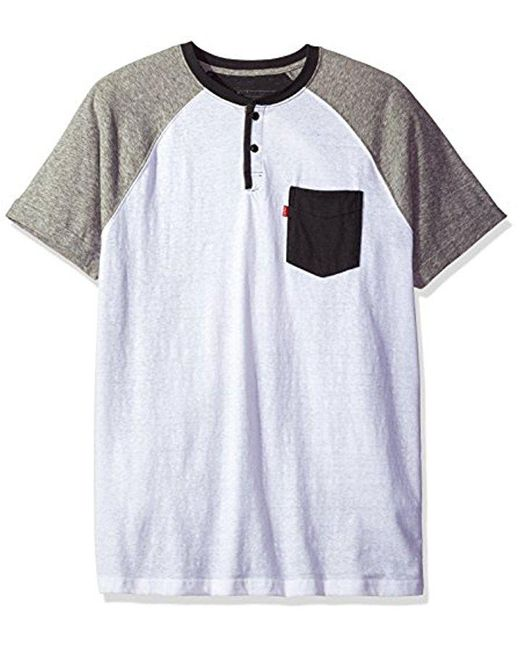 Levi's - Multicolor Wally Snow Jersey Short Sleeve Shirt for Men - Lyst