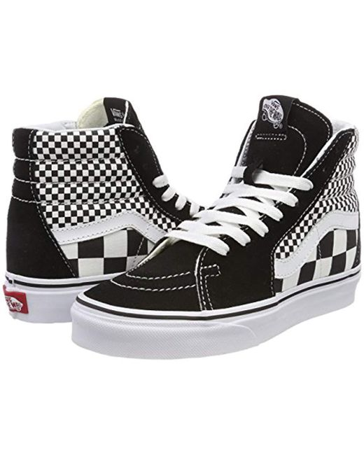 0e3a85075f Vans Unisex Adults  Sk8-hi Hi-top Trainers in Black for Men - Lyst